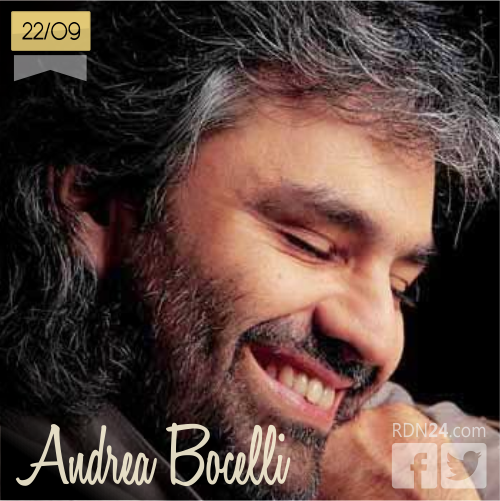 22 de septiembre | Andrea Bocelli - @AndreaBocelli | Info + vídeos