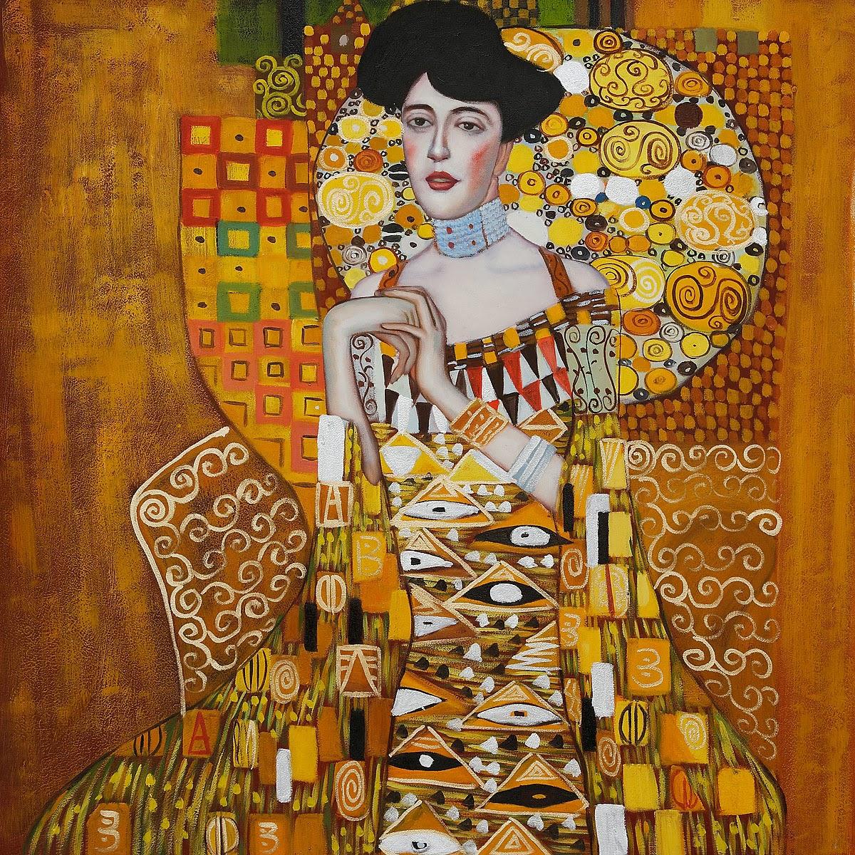 Vilt og vakkert kunstneren andrey remnev for Adele bloch bauer i