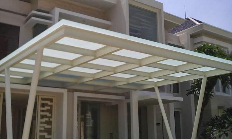 Ragam inspirasi Desain Kanopi Rumah Minimalis 2015 yang fungsional