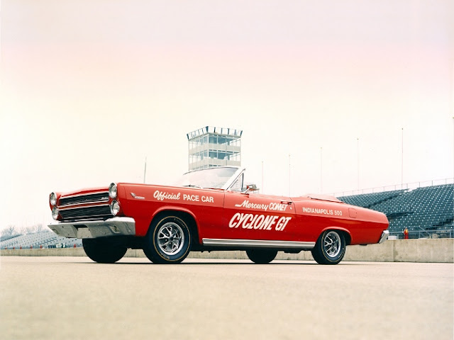 Mercury Comet Cyclone GT Convertible Indy 500 Pace Car