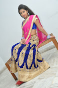 Pavani Gorgeous in half saree-thumbnail-19
