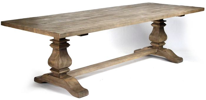 Captivating Reclaimed Pine Dining Table $2700