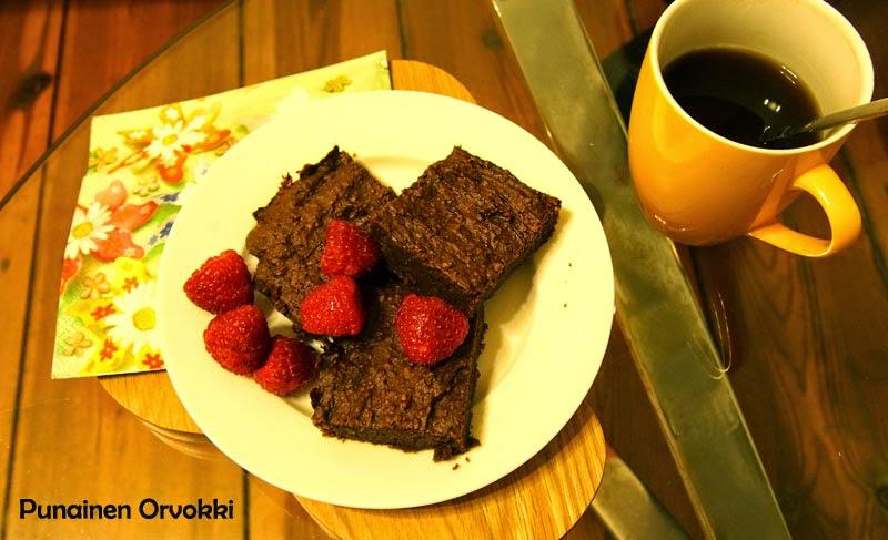 Gluteenittomat terveelliset browniet