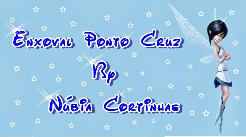 Enxoval Ponto Cruz by Núbia Cortinhas