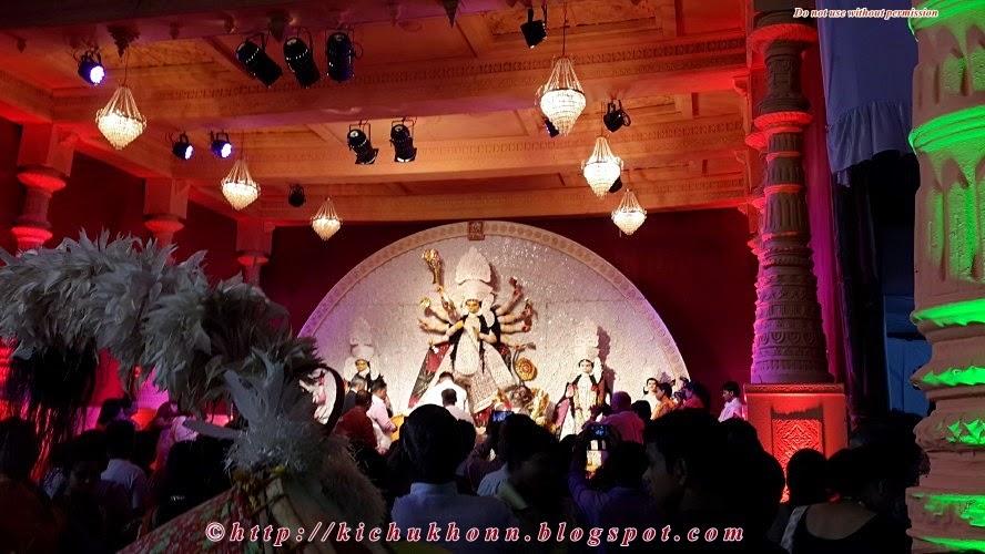 Durga pujo pune 2014 Congress bhavan
