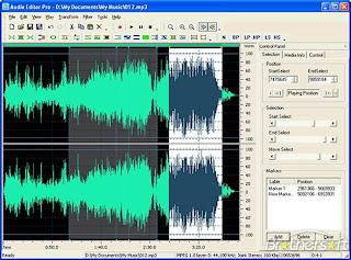 Audio Editor Gold Xmas