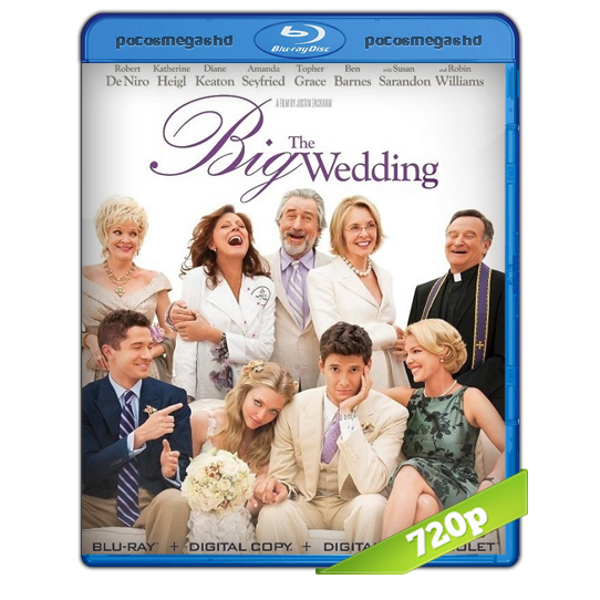 The Big Wedding | 2013 | BRRip 720p Audio Ingles 5.1 + SUB ESPAÑOL (peliculas hd )
