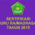 Ketentuan Pembayaran Sertifikasi Guru RA / Madrasah Kemenag