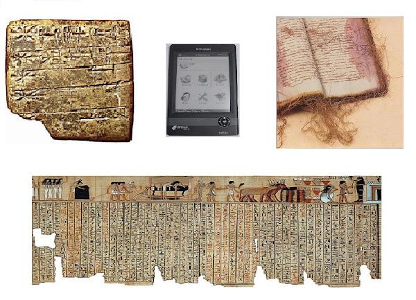 A tragetória do livro através dos séculos