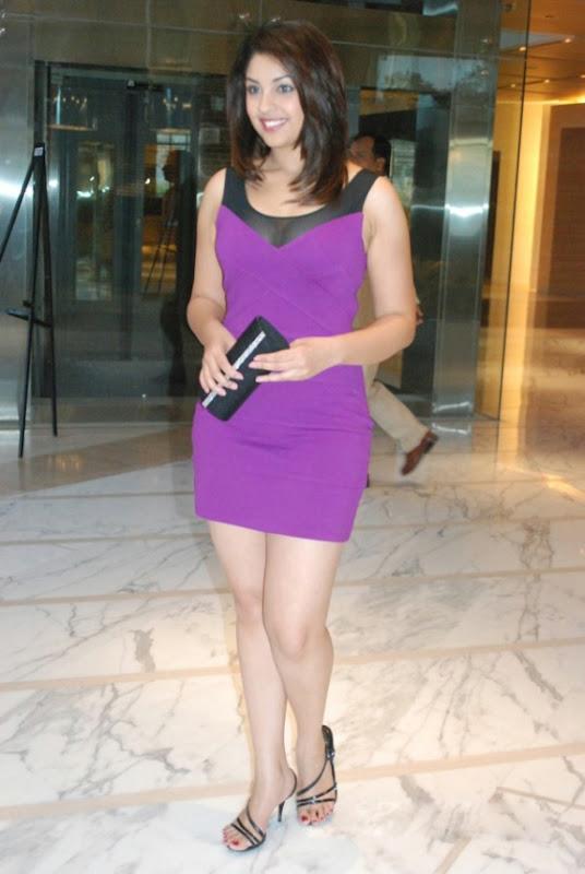 Richa Gangopadhyay In Hot Purple Dress Short Skirt Photos Stills navel show