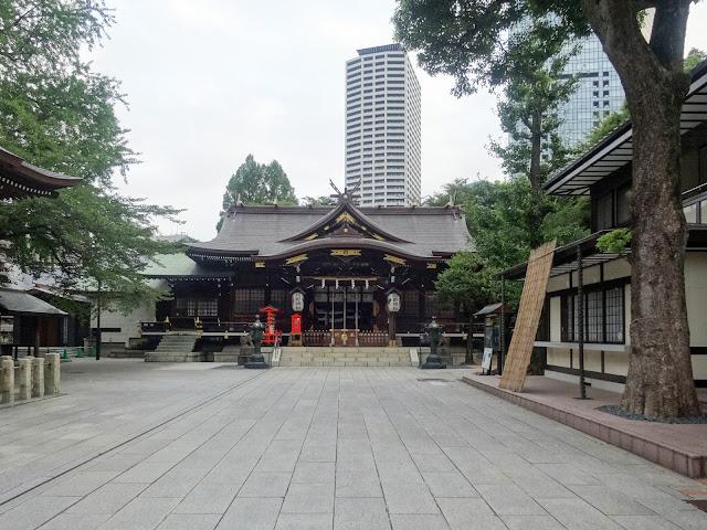熊野神社,拝殿,新宿〈著作権フリー無料画像〉Free Stock Photos