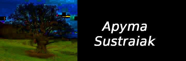SUSTRAIAK  APYMA