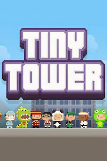 Screenshots of the Tiny tower for Android tablet, phone.