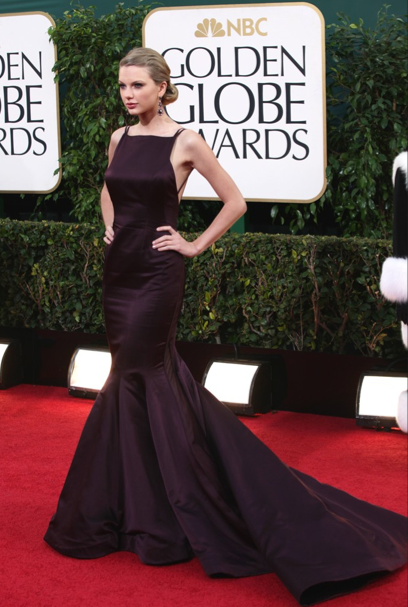 Taylor Swift Golden Globes 2012 Best Dressed