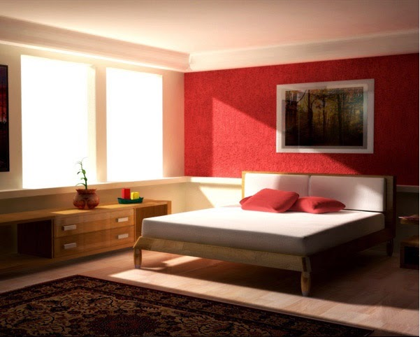 d coration chambre en rouge d cor de maison d coration chambre. Black Bedroom Furniture Sets. Home Design Ideas
