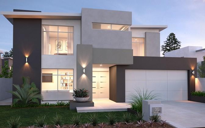 Rumah Minimalis Modern Elegan