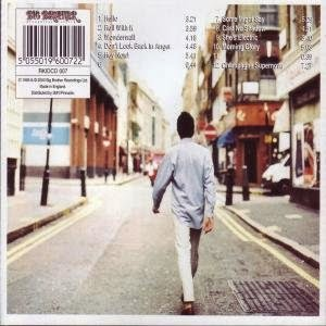 Oasis Album Back Cover Berwick Street in London, England