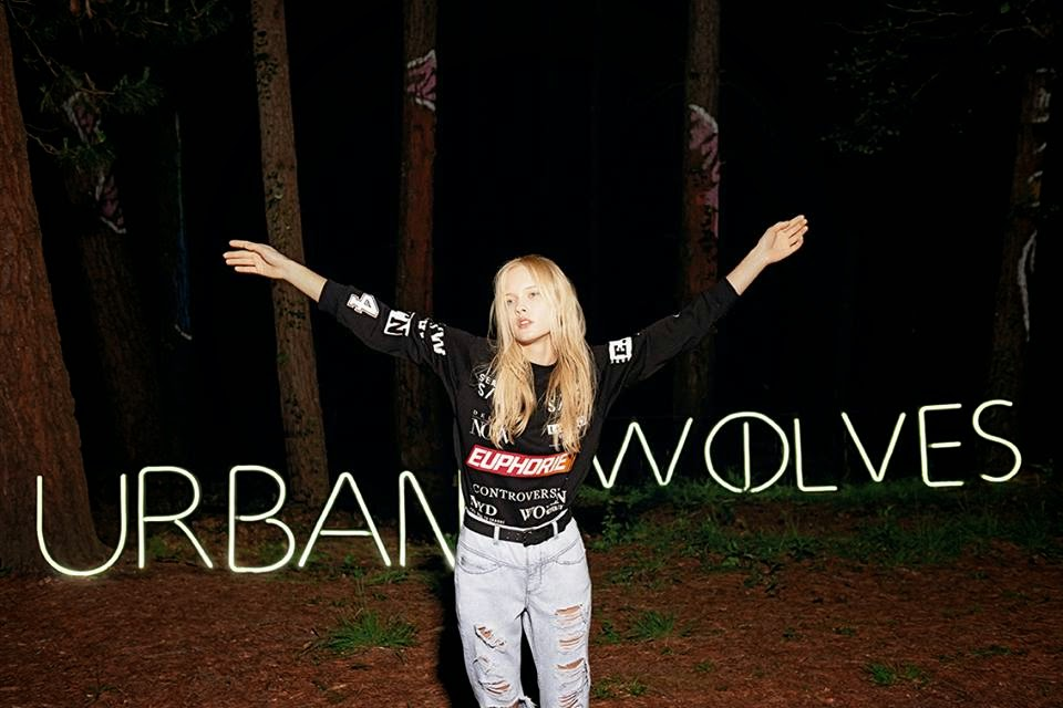 'The Call of the Urban Wolves' Bershka Fall/Winter 2014 Campaign
