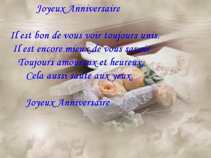 texte bon anniversaire de mariage - 50me Anniversaire De Mariage Texte