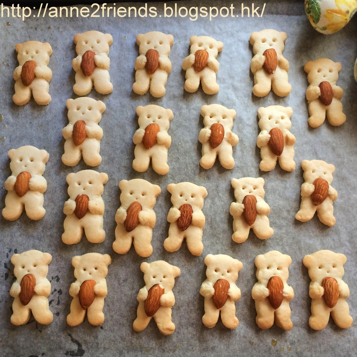 Nut Hugging Bear Cookies A Slice Of Happiness Huging Sponge Take Them Out The Oven And Tadaaa
