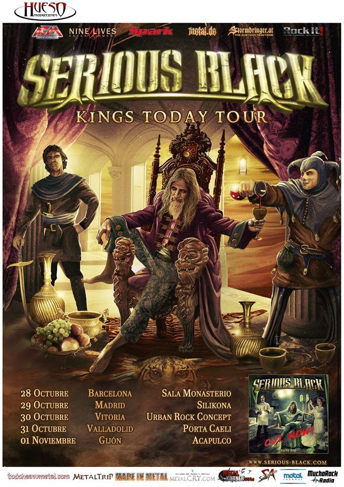 SERIOUS BLACK EN ESPAÑA