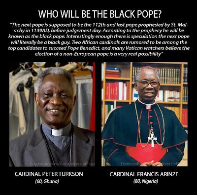 Cardina Peter Turkson / Cardinal Francis Arinze