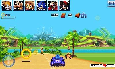 Games Layar sentuh Sonic Racing (400x240)
