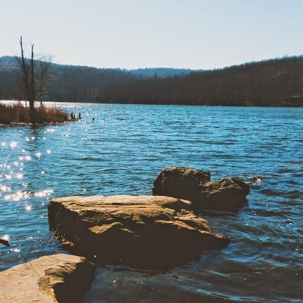 Joe Clark Trail at Lake Wilson in Fayetteville