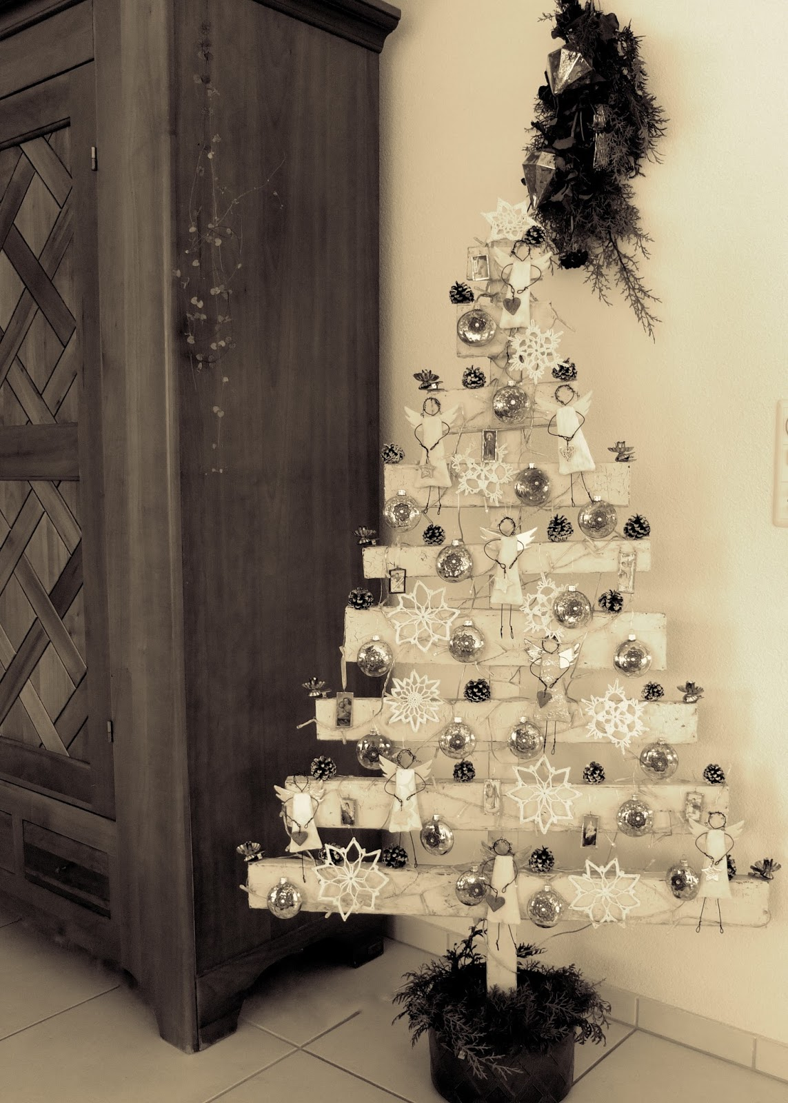 mosaik kunsthandwerk frohe weihnachten. Black Bedroom Furniture Sets. Home Design Ideas