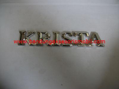 Emblem tulisan Krista