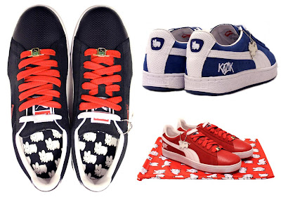 Frank Kozik x Puma Smorkin Labbit Suede Sneaker Collection