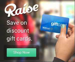 Shop: Raise Gift Cards +$5 Off