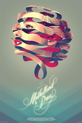 MondoCon 2015 Exclusive Muholland Drive Variant Edition Screen Print by Kevin Tong