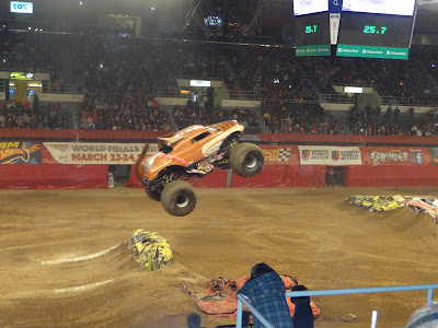 Wordless Wednesday Monster Jam!!