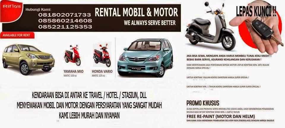 Rental Motor Bandung - Tlp/SMS/ WA 081802071733