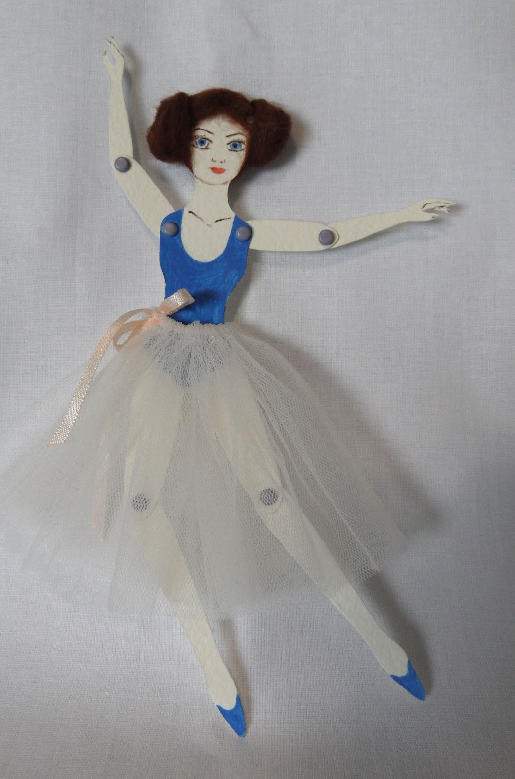 Кукла из картона своими руками 73