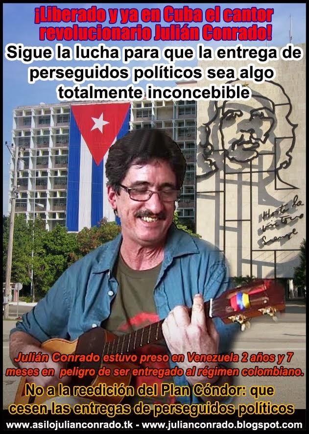 Liberado Julián Conrado