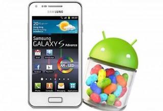 Samsung Rilis Update Android Jelly Bean Untuk Samsung Galaxy S Advance
