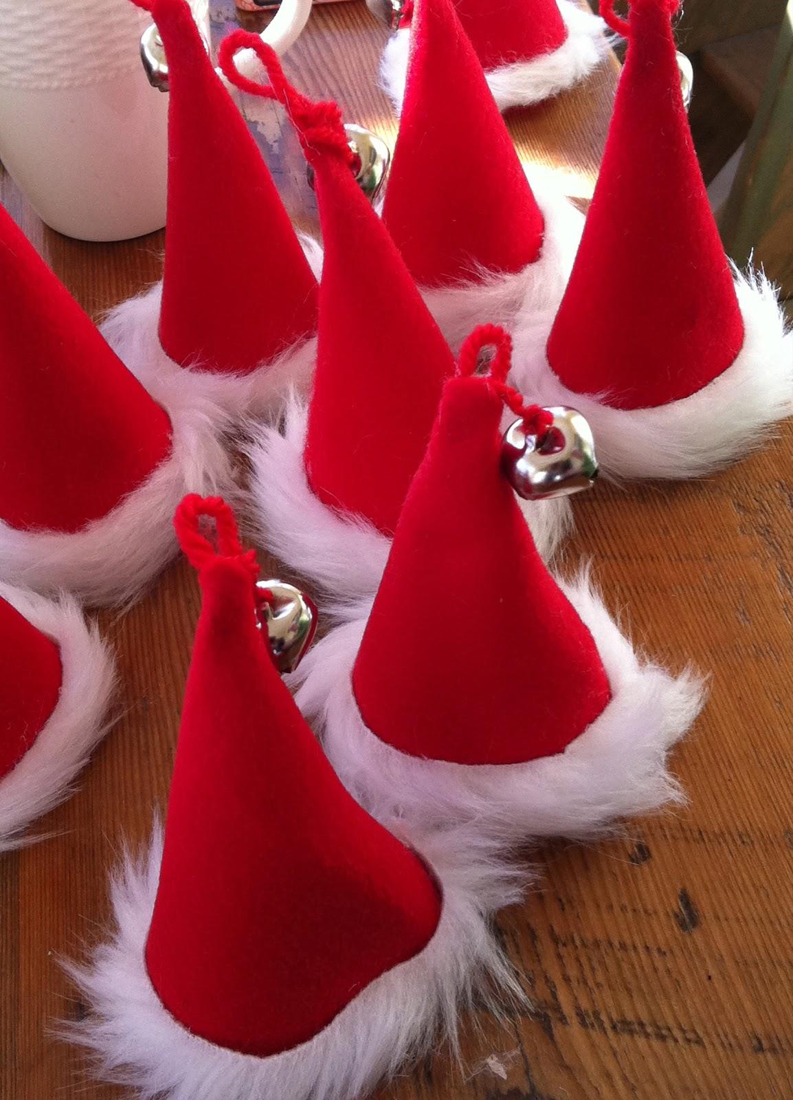 Karin lidbeck day countdown santa tree and ornaments