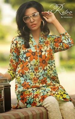 Hina Mirza Summer Lawn Collection for Girls