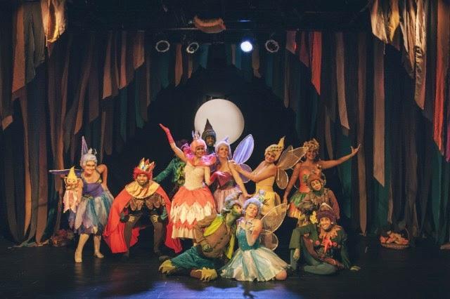 Entre duendes e fadas - Teatro Lala Schneider - divulgação
