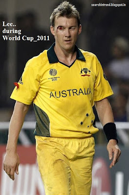 Brett Lee Retires quits International Cricket images pics profile Bowling song Biography