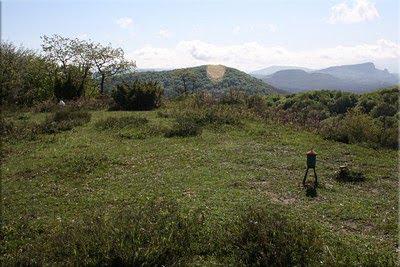 Buzones en la cima de San Justi