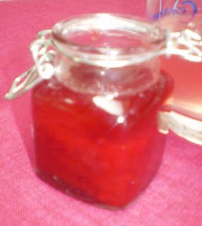 Sirop de fraises à la Stévia