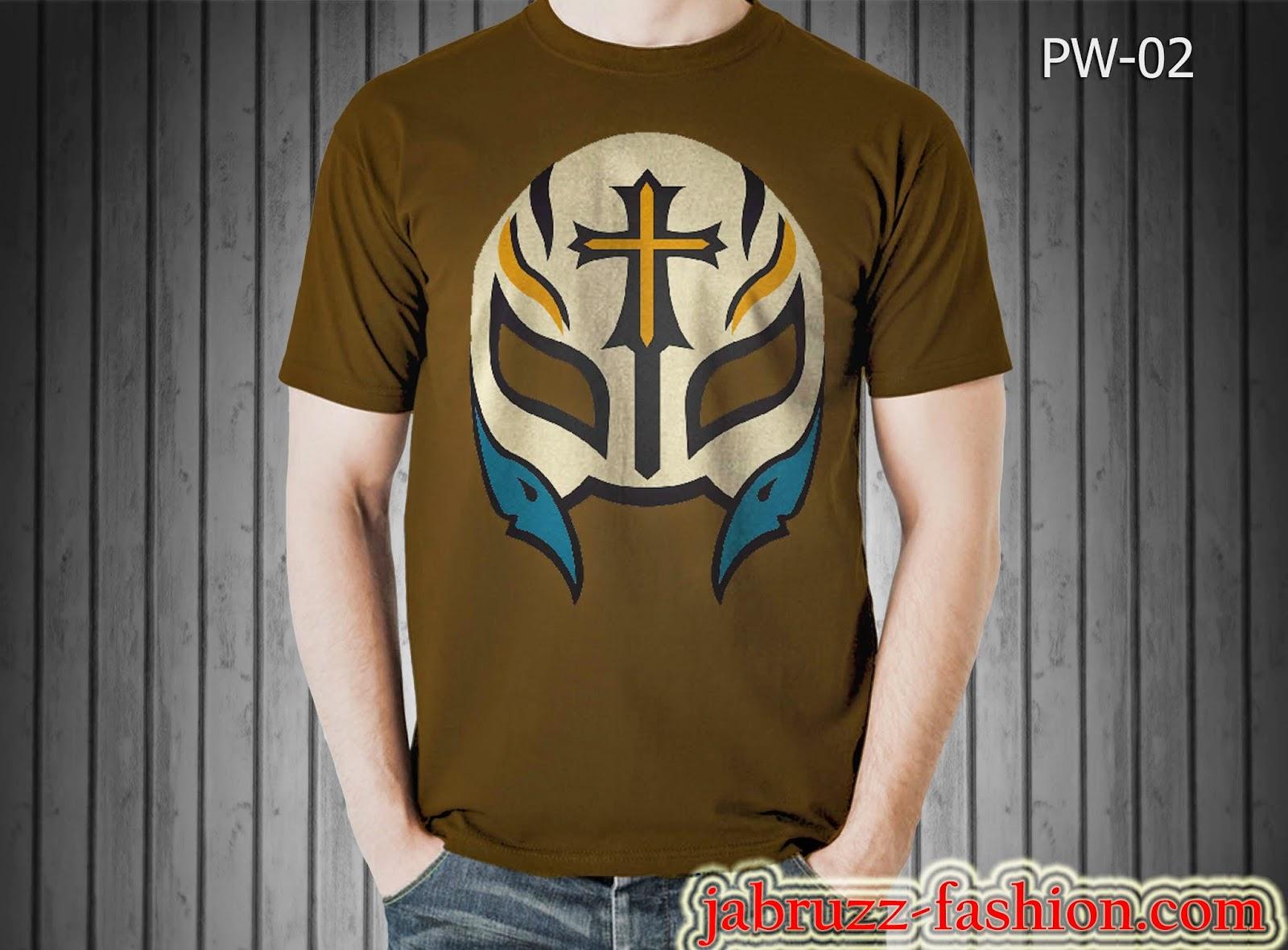 Jual Kaos/T-shirt WWE Topeng Rey Mysterio