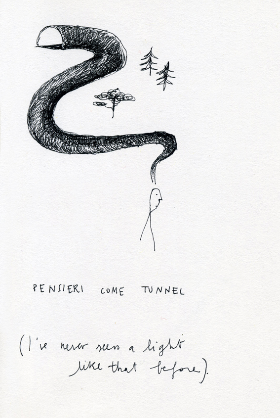 disegni Francesca ballarini tunnel