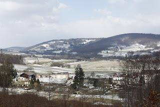 Blick auf das Kloster und den Annahof