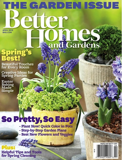 The creative cubby better homes gardens giveaway Better homes and gardens gardener