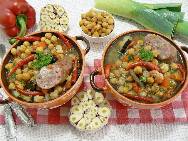 Groch włoski zwany ciecierzycą nie tlyko dla wegan