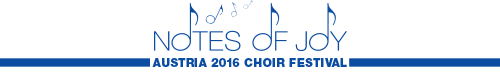 KIconcerts: Notes of Joy Choir Festival Austria 2016